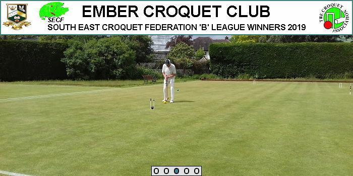 Try Indoor Croquet 14 Jan, 11 Feb & 10 March